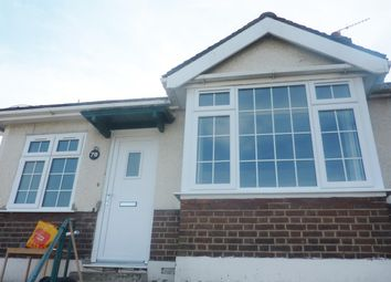 Thumbnail 2 bed semi-detached bungalow to rent in Abbey Road, Belvedere, Kent