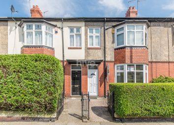 Thumbnail 4 bedroom terraced house for sale in Wingrove Road, Fenham, Newcastle Upon Tyne