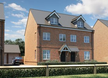 """Thumbnail 3 bed semi-detached house for sale in """"The Chastleton"""" at Marton Road, Long Itchington, Southam"""