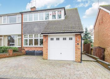 Thumbnail 3 bed semi-detached house for sale in Holbeche Crescent, Fillongley, Coventry