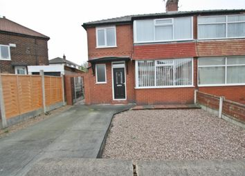 Thumbnail 3 bed semi-detached house for sale in Heywood Road, Prestwich, Manchester