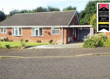 Thumbnail 2 bed bungalow for sale in Welwyn Close, Wallsend