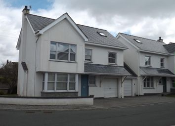 Thumbnail 4 bed link-detached house to rent in Lon Tesog, Trearddur Bay, Holyhead