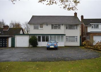 Thumbnail 3 bed detached house for sale in Oakley Wood Drive, Solihull, Solihull