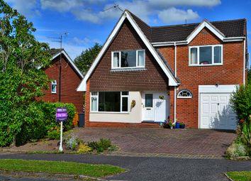 Thumbnail 4 bedroom detached house for sale in Belgrave Avenue, Alsager