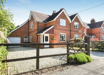 Thumbnail 4 bed semi-detached house for sale in Otterbourne, Winchester, Hampshire