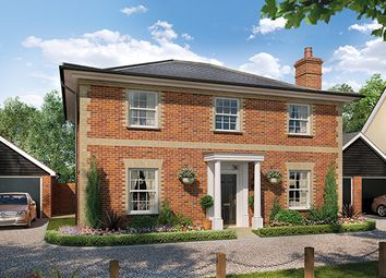 Thumbnail 4 bed detached house for sale in Harvey Lane, Dickleburgh, Diss, Norfolk