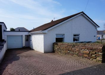 Thumbnail 4 bed detached bungalow for sale in Carloggas Close, St Mawgan, Newquay