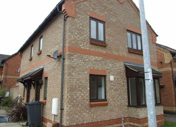 Thumbnail 2 bed terraced house to rent in 3 Burridge Close, Marston Moretaine, Beds