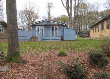 Thumbnail 3 bedroom mobile/park home for sale in Bluebells, Woodlands Park, Westfield, Hastings, East Sussex