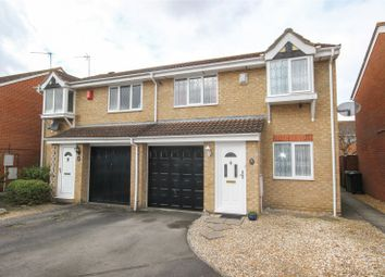 Thumbnail 3 bedroom semi-detached house for sale in Great Meadow Road, Bradley Stoke, Bristol