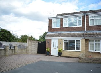 Thumbnail 3 bed semi-detached house for sale in Leyburn Grove, Chapeltown, Sheffield