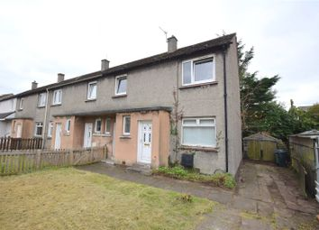 Thumbnail 3 bed end terrace house for sale in Earn Crescent, Wishaw, North Lanarkshire