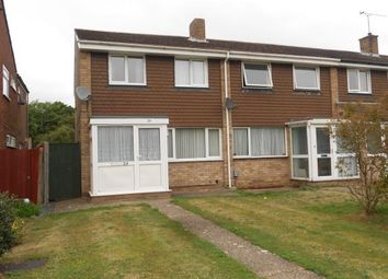 Thumbnail 3 bed end terrace house for sale in Ranworth Walk, Bedford, Bedfordshire