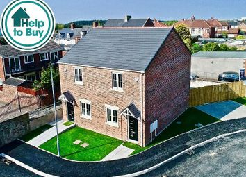 Thumbnail 2 bed semi-detached house for sale in Edward Street, Hobson, Newcastle Upon Tyne
