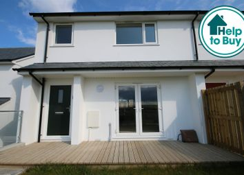 Thumbnail 3 bed end terrace house for sale in Elm Close, Newquay