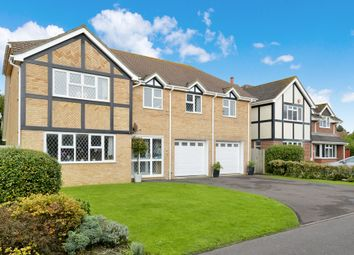 Thumbnail 5 bed detached house for sale in Sandmartin Close, Barton On Sea, New Milton