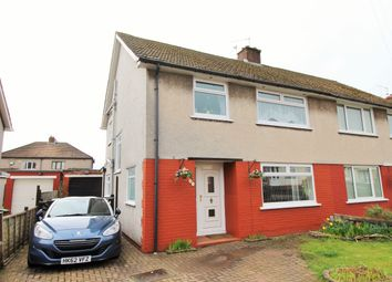 Thumbnail 4 bed semi-detached house for sale in Coryton Crescent, Cardiff