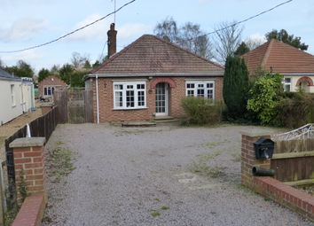 Thumbnail 4 bedroom detached bungalow for sale in Dowgate Road, Leverington, Wisbech