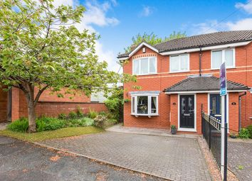 Thumbnail 3 bed semi-detached house for sale in Stevenage Drive, Macclesfield