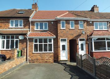 Thumbnail 3 bed terraced house to rent in Hardwick Road, Solihull