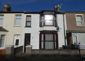 Thumbnail 3 bedroom terraced house to rent in Byron Avenue, Margate