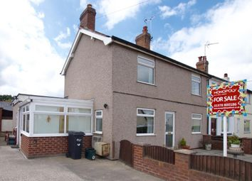 Thumbnail 2 bed terraced house for sale in Rackery Lane, Caergwrle, Wrexham