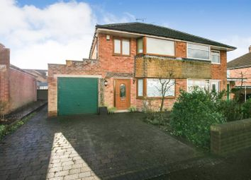 Thumbnail 3 bed semi-detached house for sale in Salisbury Avenue, Dronfield, Derbyshire