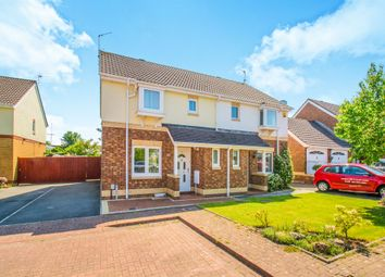 Thumbnail 3 bed semi-detached house for sale in Allen Close, Old St. Mellons, Cardiff