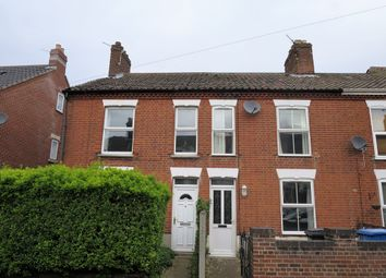 Thumbnail 3 bed terraced house for sale in Northcote Road, Norwich