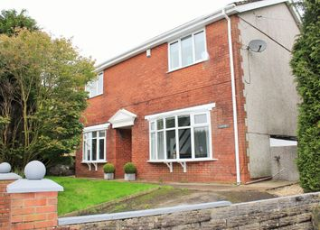 Thumbnail 4 bed detached house for sale in Heol Ddu, Tirdeunaw, Swansea
