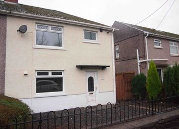Thumbnail 3 bed semi-detached house for sale in Is-Y-Rhos, Caerbont, Swansea, West Glamorgan