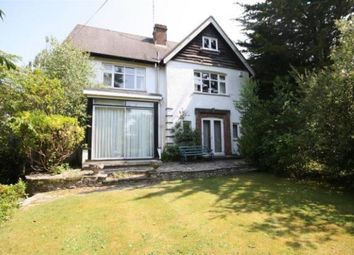 Thumbnail 4 bed detached house to rent in Links Road, Canford Cliffs, Poole