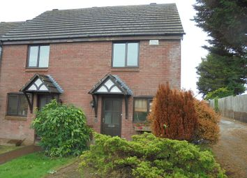 Thumbnail 2 bed end terrace house to rent in 26 Caer Newydd, Brackla, Bridgend, Mid. Glamorgan.