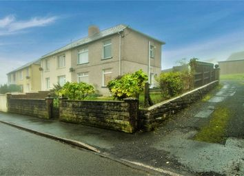 Thumbnail 3 bed semi-detached house for sale in St Gwladys Avenue, Bargoed, Caerphilly