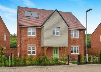 Thumbnail 4 bedroom detached house for sale in Brook Furlong, Brooklands, Milton Keynes