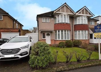 Thumbnail 3 bed semi-detached house for sale in Parkside Way, North Harrow, Harrow