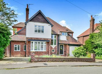 Thumbnail 4 bed detached house for sale in Fairbourne Drive, Wilmslow