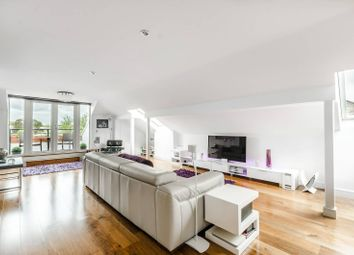 Thumbnail 2 bed flat for sale in Pumping Station Road, Corney Reach, London
