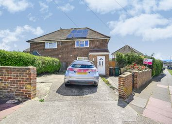 Thumbnail 3 bed semi-detached house for sale in Manor Hill, Brighton