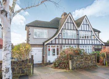 Thumbnail 3 bed semi-detached house for sale in Cecil Road, Southgate, London, .