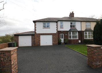 Thumbnail 4 bed semi-detached house for sale in Brampton Old Road, Carlisle, Cumbria