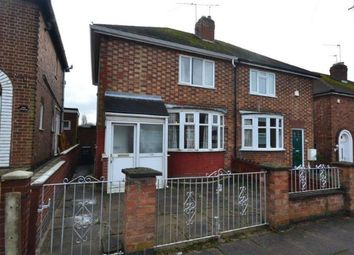 Thumbnail 3 bed semi-detached house for sale in Roydene Crescent, Leicester