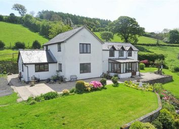 Thumbnail 4 bed farm for sale in New House, Hope, Welshpool, Powys
