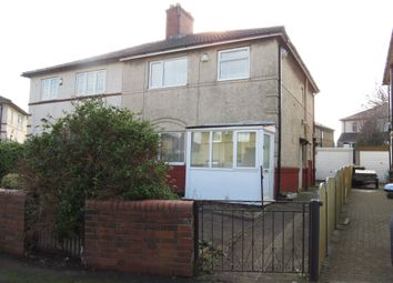 Thumbnail 3 bed semi-detached house for sale in Eightlands Avenue, Bramley, Leeds