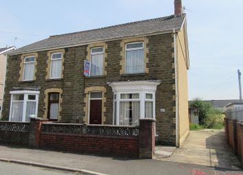 Thumbnail 2 bed semi-detached house to rent in Sybil Street, Clydach, Swansea.