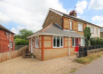 Thumbnail 2 bed semi-detached house for sale in Shalmsford Street, Chartham, Canterbury