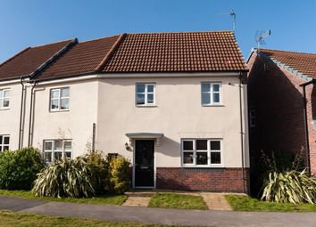 Thumbnail 3 bed semi-detached house for sale in Girton Way, Mickleover, Derby