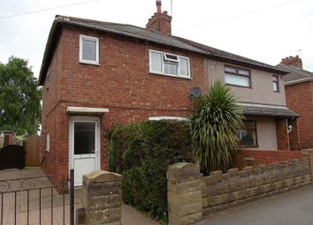 Thumbnail 2 bed semi-detached house for sale in Howville Avenue, Hatfield Woodhouse, Doncaster