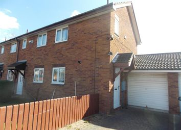 Thumbnail 2 bedroom end terrace house for sale in Hadleigh Crescent, Middlesbrough